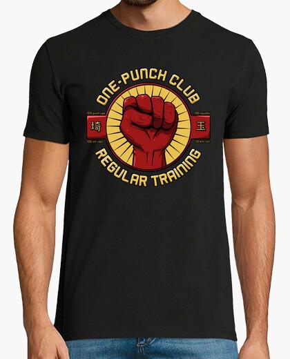 T-shirt club con un solo pugno