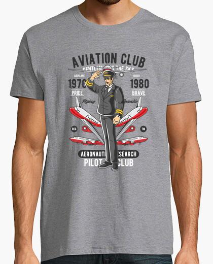 Tee-shirt club d39aviation