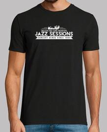 club de jazz camiseta del vintage