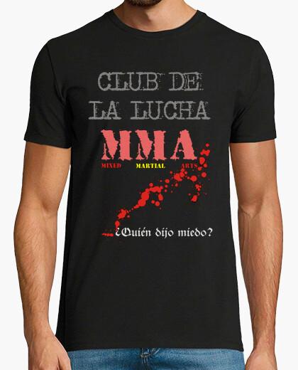 Camiseta club de la lucha