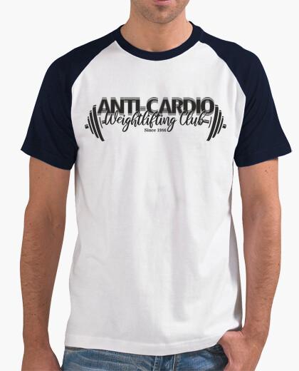 Tee-shirt club d'haltérophilie anti cardio