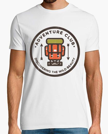 T-shirt club di avventura