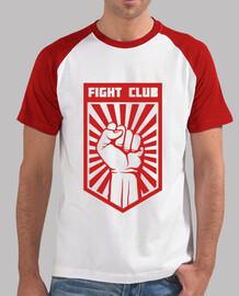 club di combattimento rosso vintage
