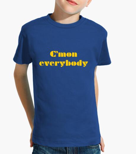 Ropa infantil CMON EVERYBODY (yellow)
