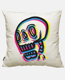 cmyk skull