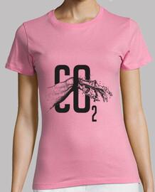 co2 t-shirt donna