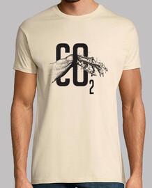 co2 t-shirt mann