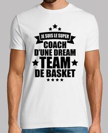 coach d'une dream team de basket