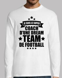 coach d'une dream team de football