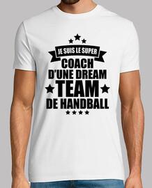 coach d'une dream team de handball