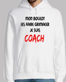 Coach Les faire grimacer