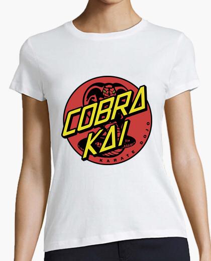T-shirt cobra croce
