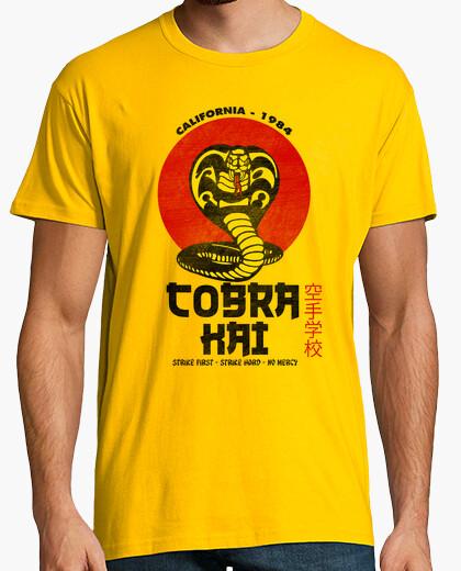 Tee-shirt cobra kai (version jaune)