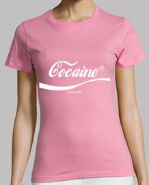 Cocaine classic white logo