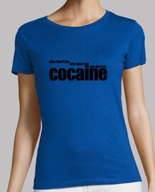 COCAINE (she don't lie) black