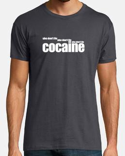COCAINE (she don't lie) white