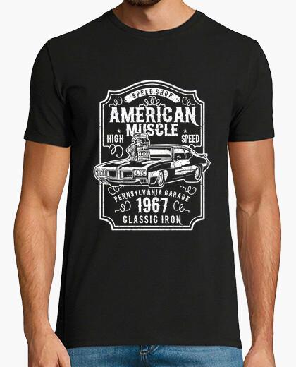 Camiseta Coche Americano Clasico