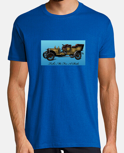 Camisetas Coche antiguo.