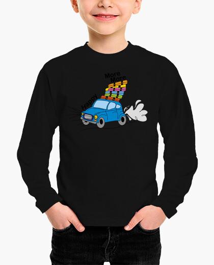 Ropa infantil coche de vacaciones