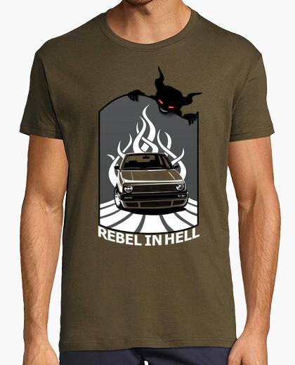 Camiseta Coche Golf 2 - Rebel in Hell