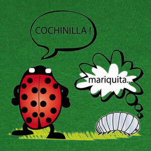 Camisetas cochinilla