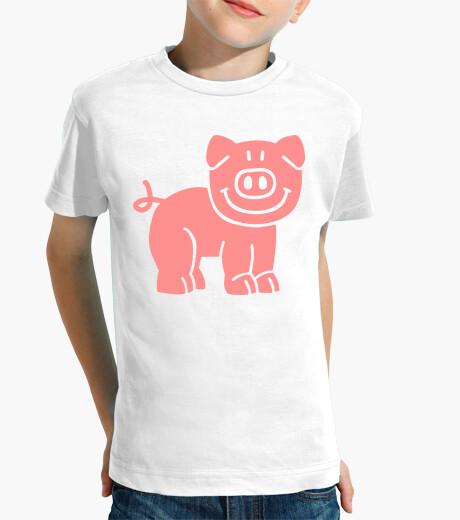 Vêtements enfant cochon comique