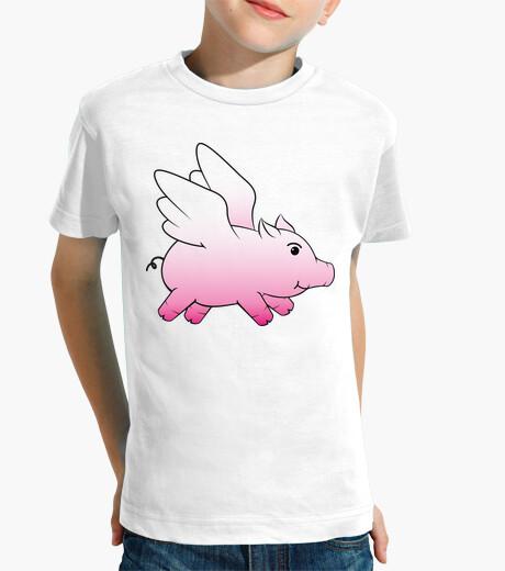 Vêtements enfant cochon volant / cochon ailé