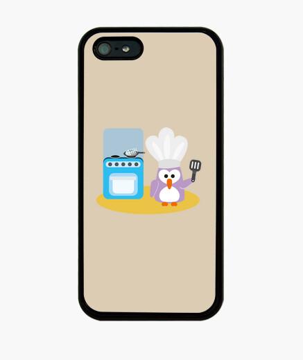 Funda iPhone cocinero del pingüino