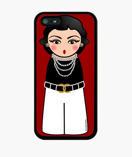 Coque iPhone coco kokeshi