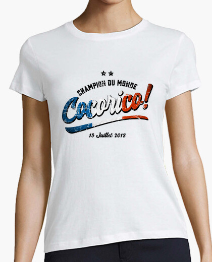 Cocorico world cup 2018 t-shirt