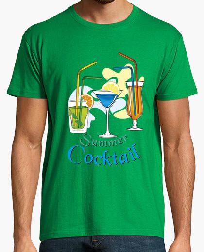Camiseta cóctel de verano