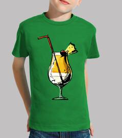 Coctel Piña Colada / Copa / Bebida