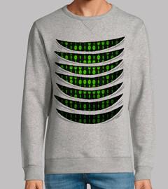 code binaire à l'intérieur