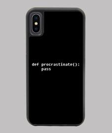 code de procrastination