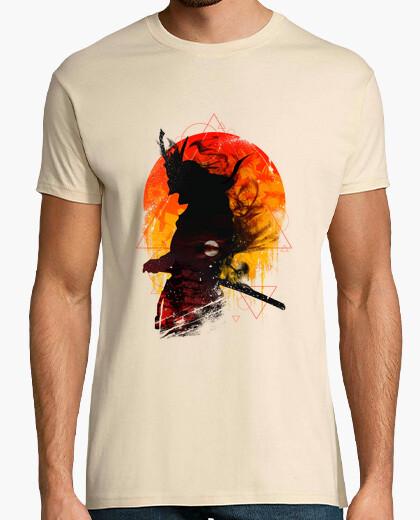 Tee-shirt code samurai