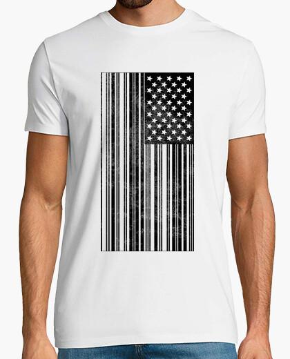 Camiseta Código de Barras USA