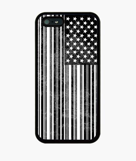 Funda iPhone Código de Barras USA