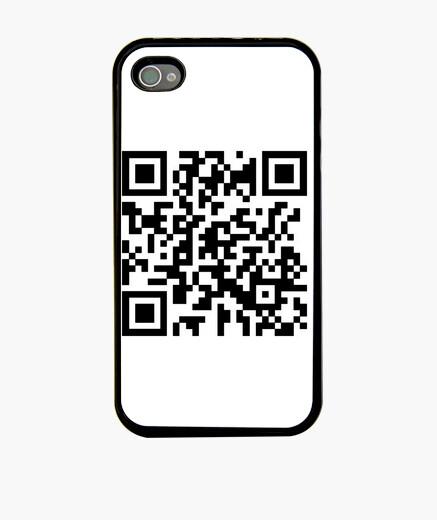 Funda iPhone código QR