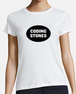 Coding Stones logo negro