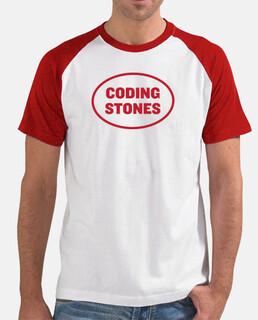Coding Stones logo rojo