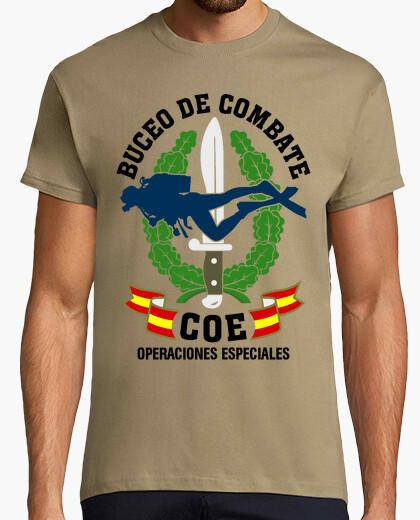 Camiseta COE Buceo Combate mod.1