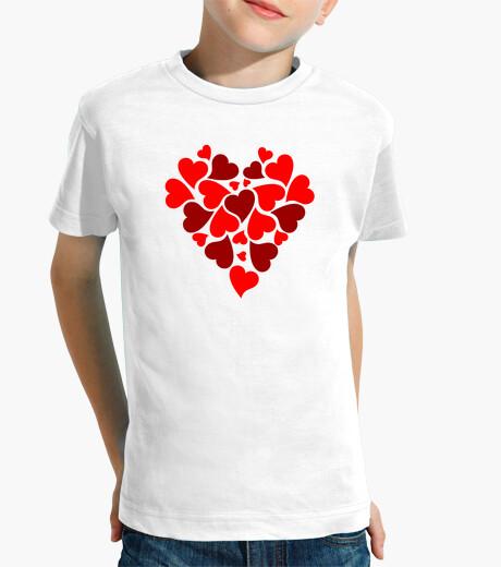 Vêtements enfant cœur