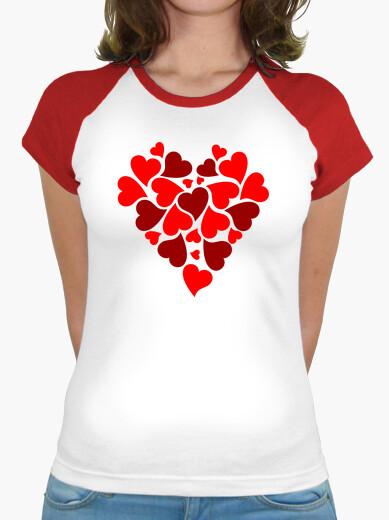Tee-shirt cœur