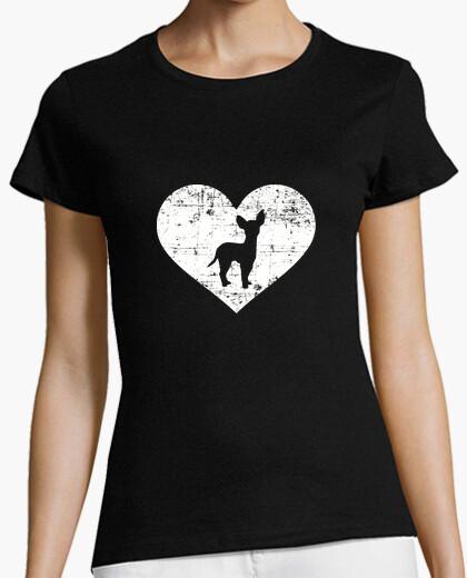 Tee-shirt coeur chihuahua