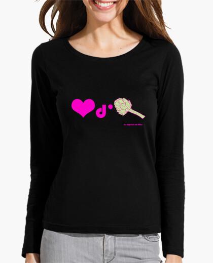 Tee-shirt Coeur d'artichaut