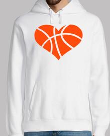 coeur de basket-ball