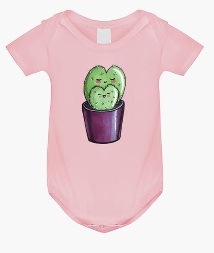 Vêtements enfant coeur de cactus maman