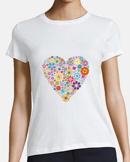 cœur de fleurs pour les femmes