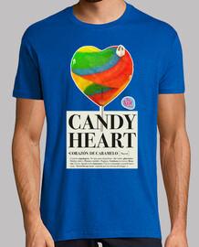 coeur homme de bonbons