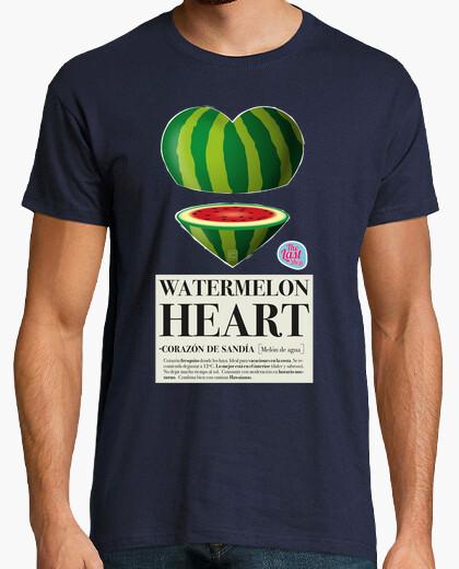 Tee-shirt coeur melon homme